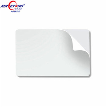 Promotional n-tag215 RFID Smart Card With 3M Adhesive Sticker