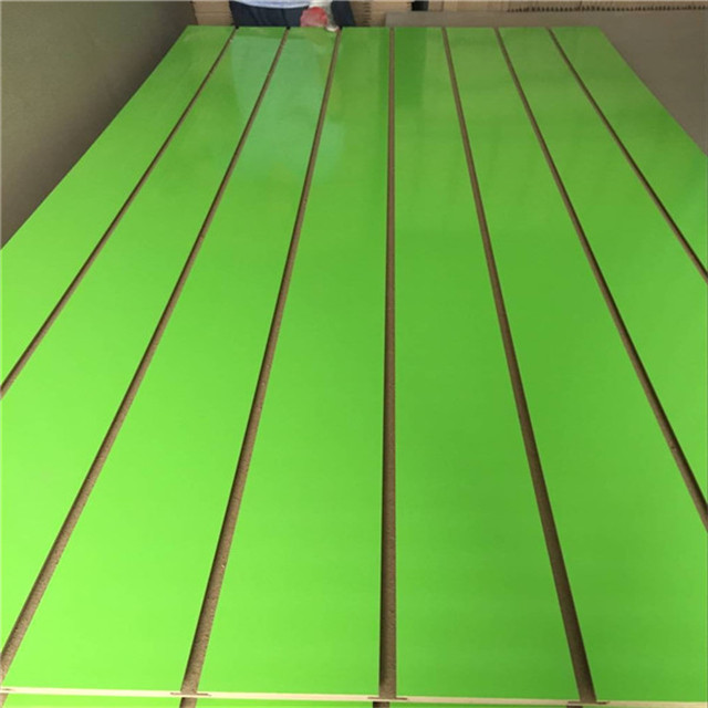 grooved mdf panel with accessories