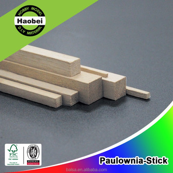 Chinese Paulownia Wood Stick for Sale 2*2mm 2*3mm 2*4mm