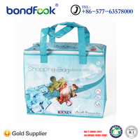 zipper picnic cooler bag for food