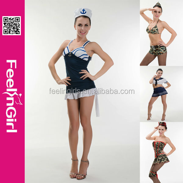 Whoesale newly design army sex costume no moq manufacturer