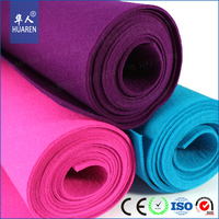 manufacture red craft wool felt for hand making