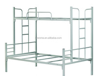 Cheap metal double bunk bed with staircase,iron bed steel cots iron cots cots