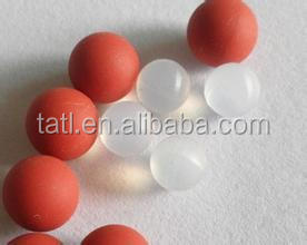solid rubber ball for pump valve