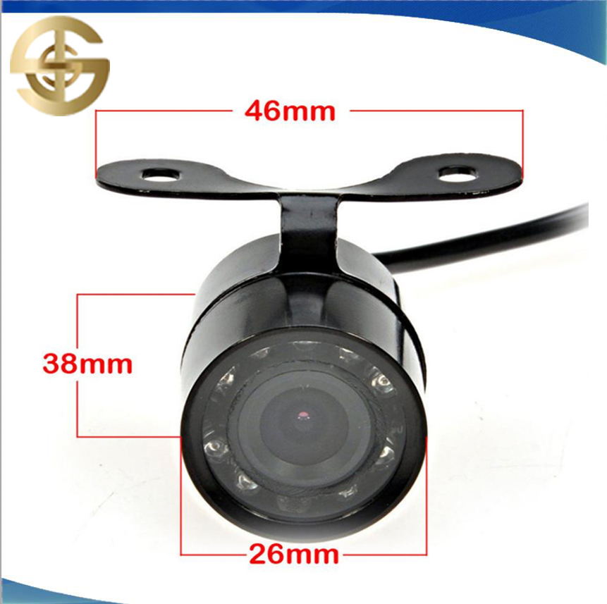 Car Front And Rear Camera With Small Butterfly Rear View Camera For Car