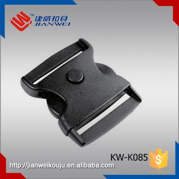High quality 2 Inch plastic side release buckle plastic insert press button buckle JW-K085