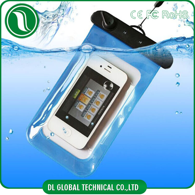 cheap pvc phone waterproof case for iphone 6, 6 plus, 5, 4