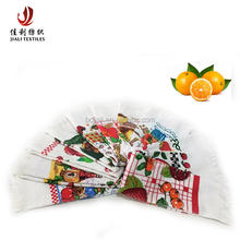 China Baoding supplier promotional Cotton towel Custom Printed Tea Towel Kitchen Towel