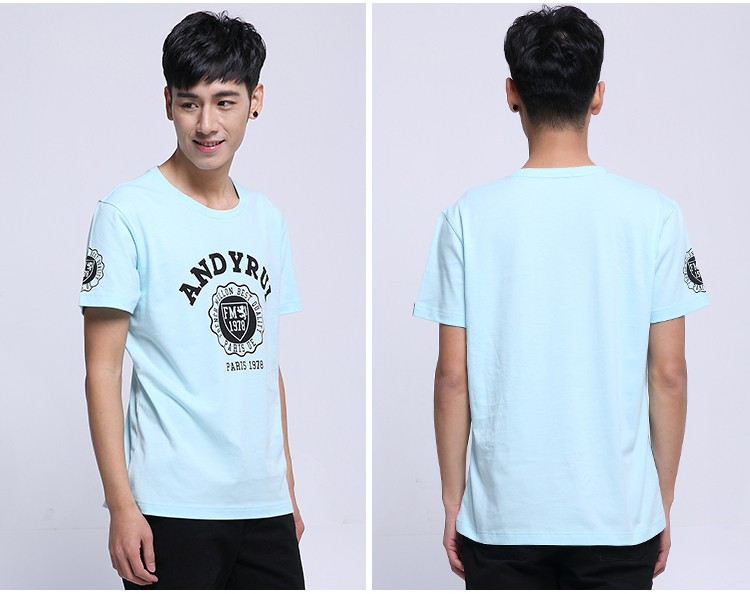 2016 summer tshirts men's clothing custom tshirt printing
