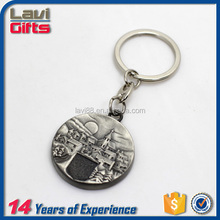 New design custom metal floating keychain