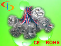 3pcs SMD5050 30mm party RGB color changing watreproof led disco ball