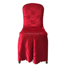 Red Wedding Party Seat Decoration Banquet Chair Cover