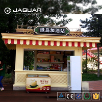 Promotion manufactory supply stainless steel fast food kiosk for sale