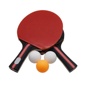 High Quality  Table Tennis 2 Player Set, Pingpong Paddle with 2 Bats and 3 Balls