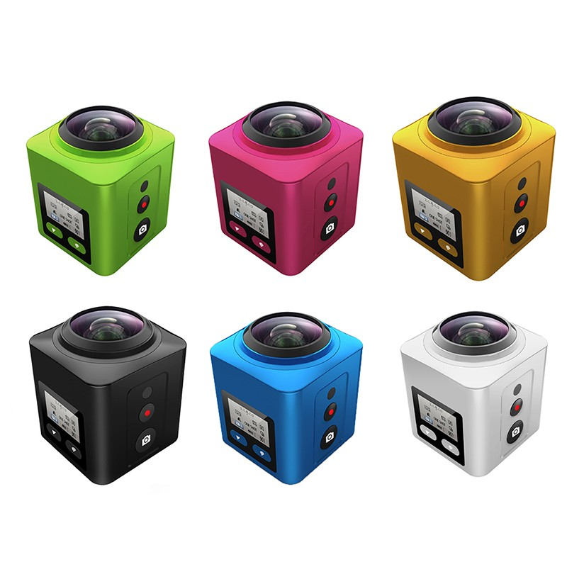 Hot selling 360 Camera V2, out door Sport camera, Action Camera With Led Light