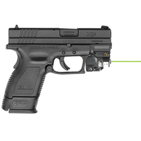 Subcompact pistol mounted 532nm glock 23 glock 17 laser sight