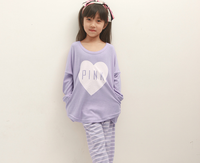 D72294t 2015 new spring children's cute pajamas
