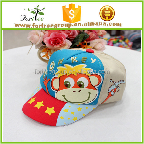 OEM design baby baseball caps wholesale custom embroidered kids baseball caps and hats
