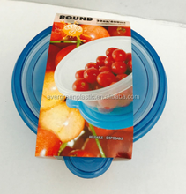 Hot sale plastic containers wholesale/fast food container/food delivery containers for lunch box
