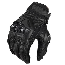 RIGWARL Protective Black Sports Synthenic Leather Gloves Motorcycle Waterproof For Racing Sports With OEM Service