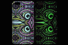 For Samsung Galaxy S4 Case i9500 Mobile Phone Cases Wild Animals Owl Luminous