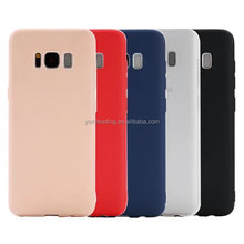 For Samsung S8 S8plus OEM pure color Ultra thin transparent matte TPU case