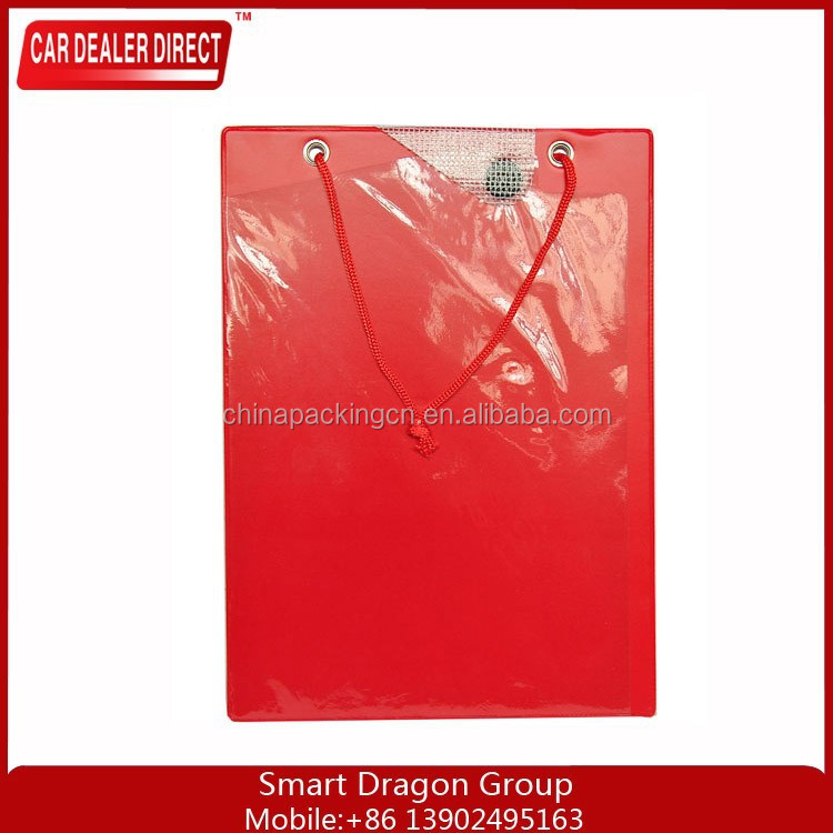 Wholesale A4 multifunction PVC storage clipboard folding PP file folder for promotion