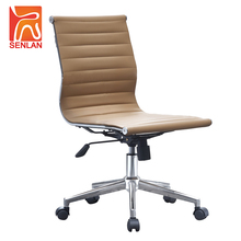 D823-5B SENLAN factory no armrest swivel lift control mid back rotating office chair