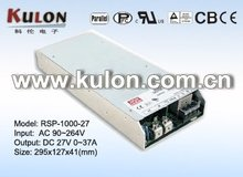 Mean Well Switching power supply Mean Well Led driver converters inverters adaptors SMPS RSP-1000-27