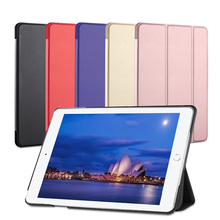 Licheers free shipping Folding PU multifunction leather <strong>case</strong> <strong>for</strong> <strong>ipad</strong> 9.7 inch Slim Smart Flip Stand PU Leather Cover <strong>Case</strong>