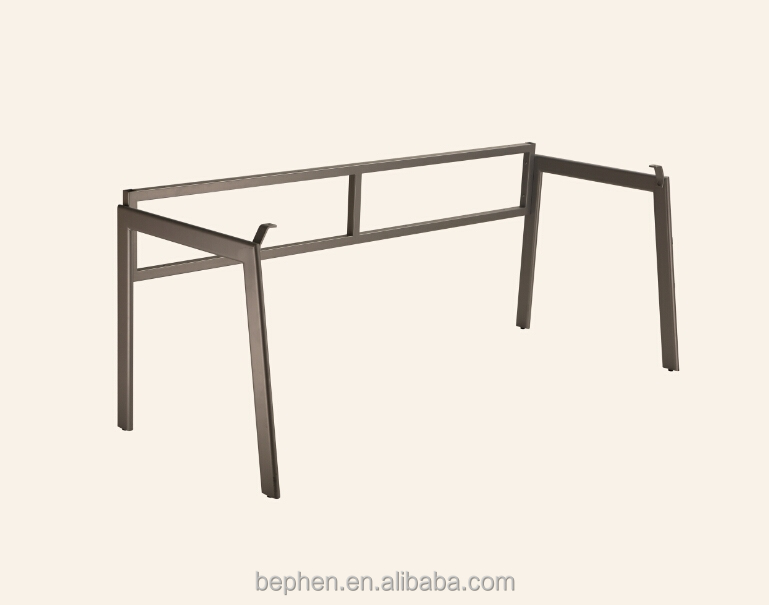 full KD desk frame powder coated metal desk legs 10015P4