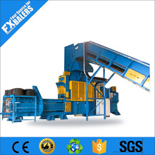 Waste application wrapping machine for aluminium sheets
