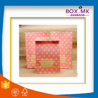 2016 Wholesale Pink Handmade Kraft Paper Bags For Charcoal