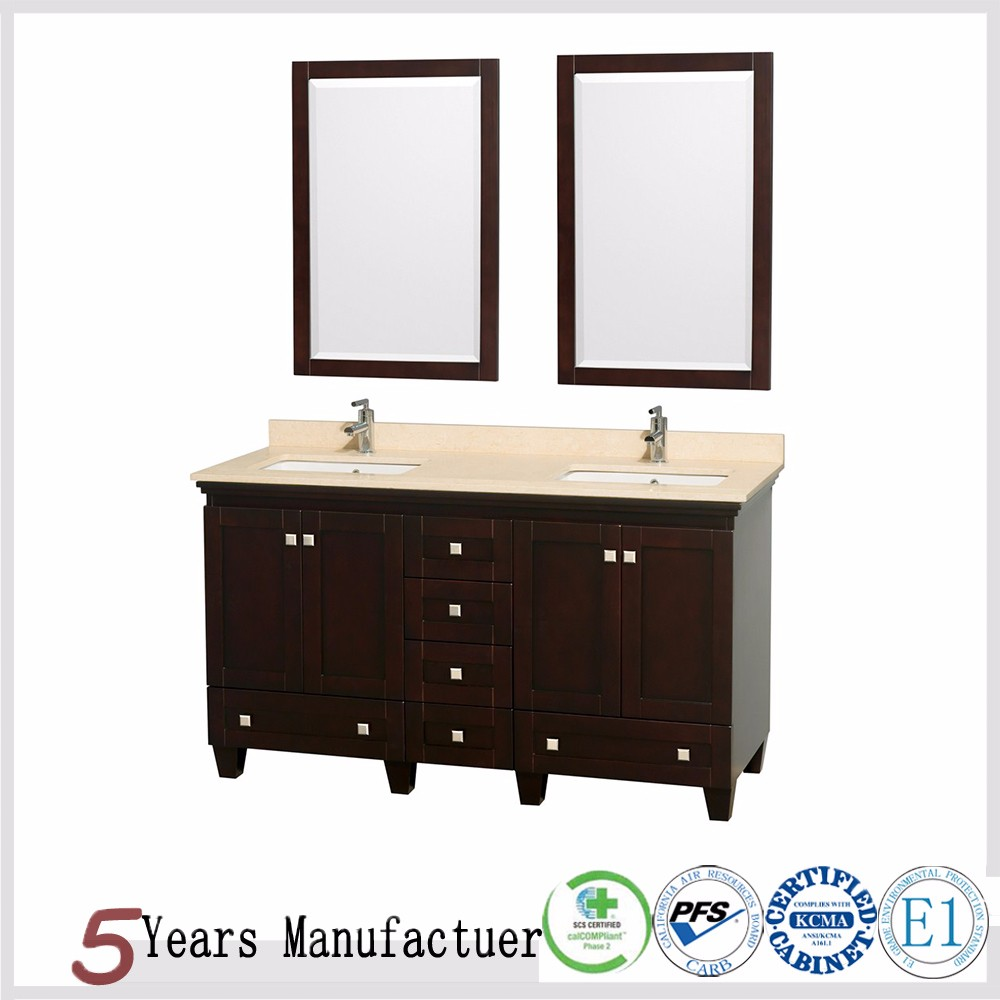 Solid wood floating wall modern bathroom cabinets buy modern bathroom cabinets floating wall Solid wood bathroom vanities cabinets