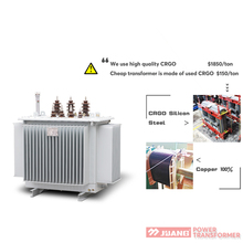 100kva electrical power transformer price for 11KV ratings
