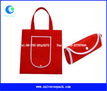 Tote Foldable Red Bag Nonwoven Hot Selling Export Shopping Bags With High Quality