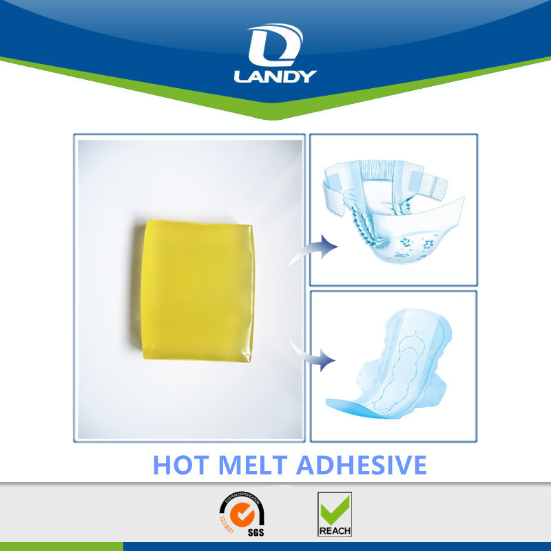 CONSTRUCTION APPLICATION OF DIAPER AND SANITARY NAPKIN HOT MELT ADHESIVE