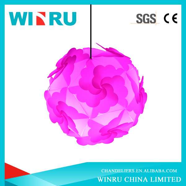 wholesale petal design IQ puzzle light/jigsaw lits/led puzzle light