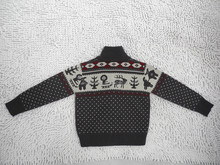 New design child coat flat knitted cardigan sweater softextile baby sweater
