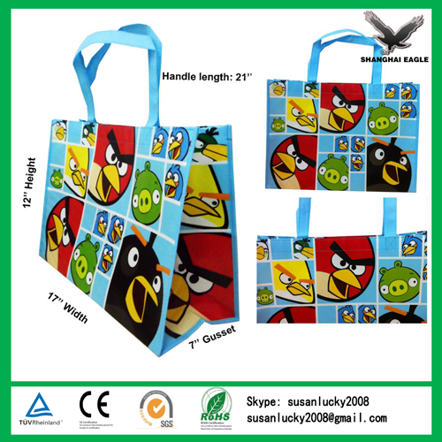 Laminated Nonwoven Tote Customized