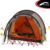 Quick Delivery 190T polyester Double Layer Windproof Waterproof 1-2 Person Canvas Outdoor Tent
