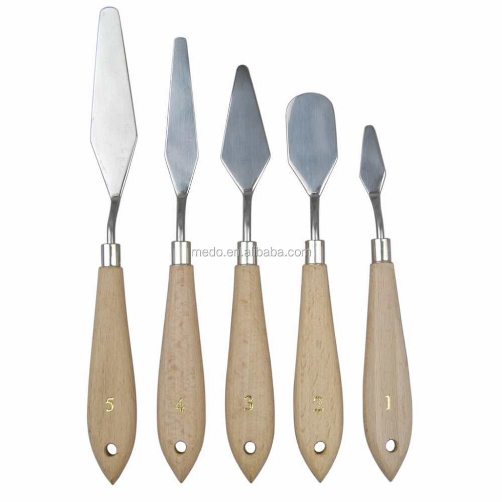 5pcs Palette Knife Set Painting Tool