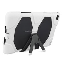 Colorful Hybrid Heavy Duty Stand Cover Case For Apple for iPad 6/ Air2 Shockproof Tablet Case With Kickstand