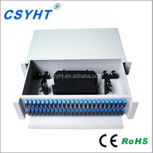 slidable rack-mount type ODF/96core patch panel