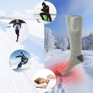Rechargeable Battery Heated Socks Thermal Power Warmer Socks