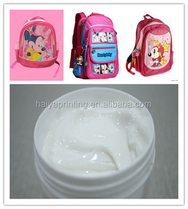whloesale non woven screen printing ink for bag handbag
