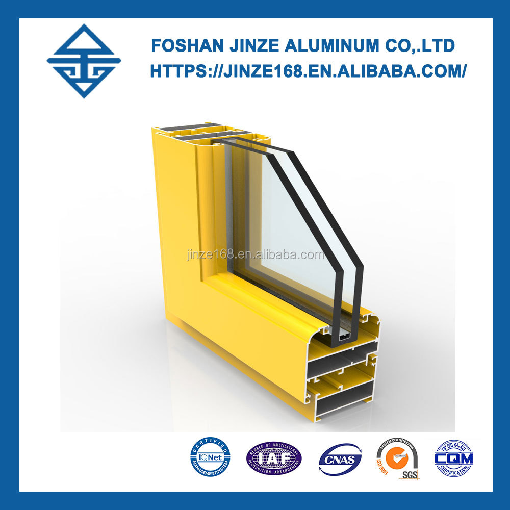 6061 extrusion aluminium profile for window and door