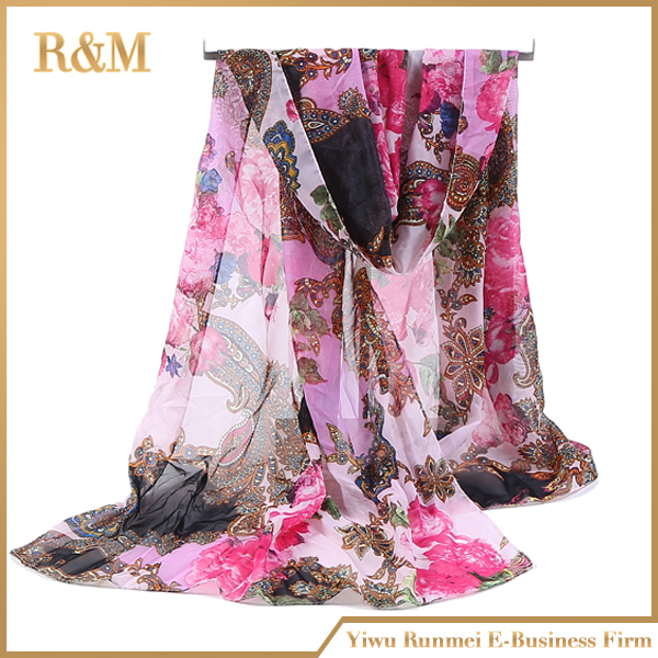 Factory Popular custom design usa scarf made in china