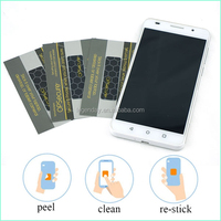 Best Promotion Gifts Silicone Rubber Mobile Phone Screen Cleaner & Wipe Stickers