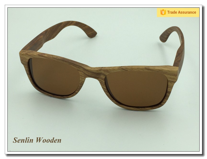 Trade Assurance Wooden Sunglasses Eyewear 2015 New Products Wood Sun Glasses Polarized Lenses Free Sample Gafas De SoL